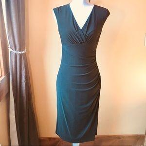 Ralph Lauren little black faux wrap dress